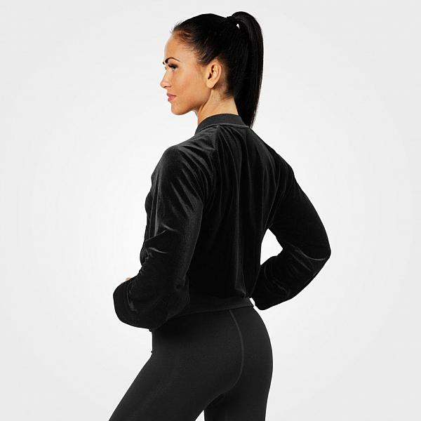 Better Bodies Bowery Zip Ls - Black Detail 2