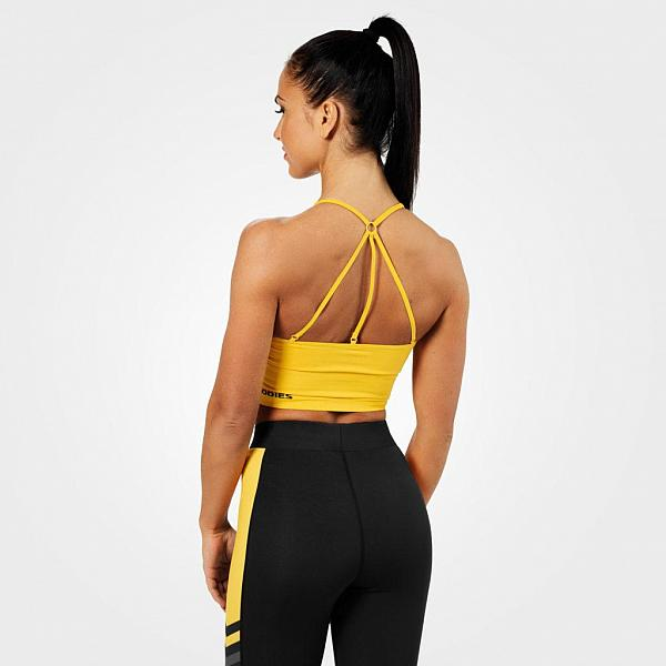 Better Bodies Astoria Seamless Bra - Yellow Detail 2