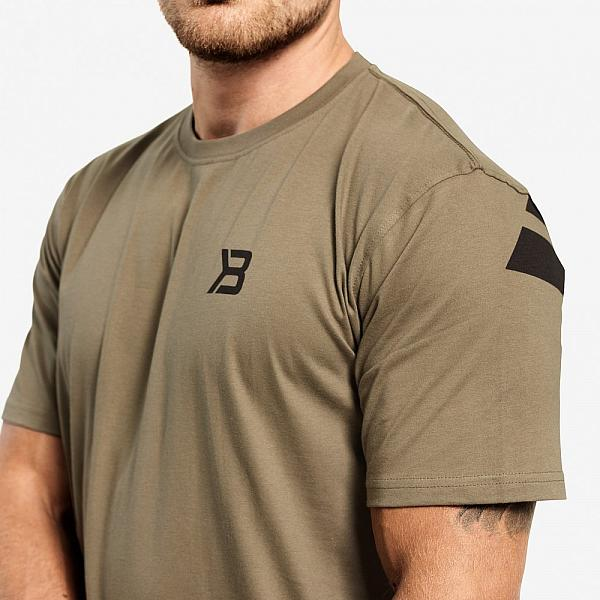 Better Bodies Stanton Oversize Tee - Washed Green Detail 3